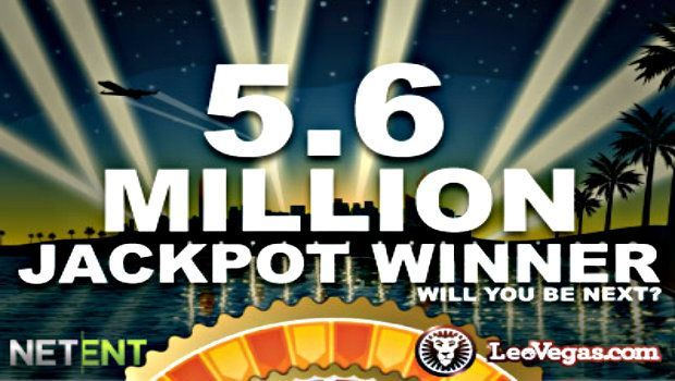 Leo Vegas, NetEnt Continue Streak of Record Breaking Jackpots