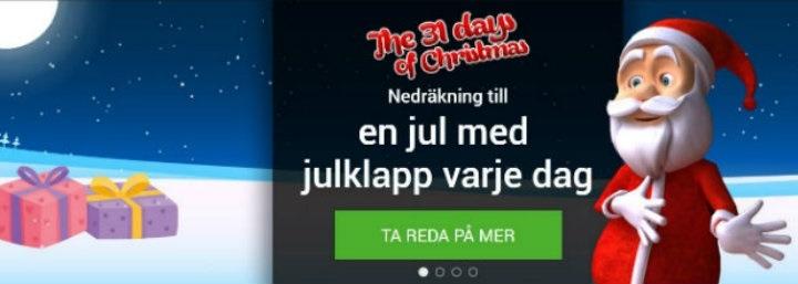 Casino med julkalender 2017!