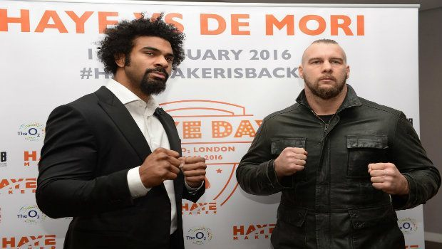 David Haye vs Mark de Mori Betting Preview