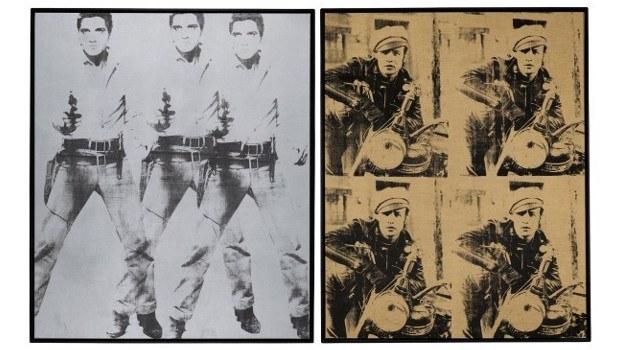 Triple Elvis und Four Marlons