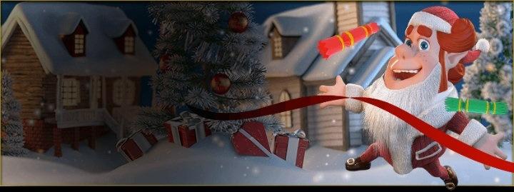 Fartfyllt julrace i bra casinospel hos casino på nätet!