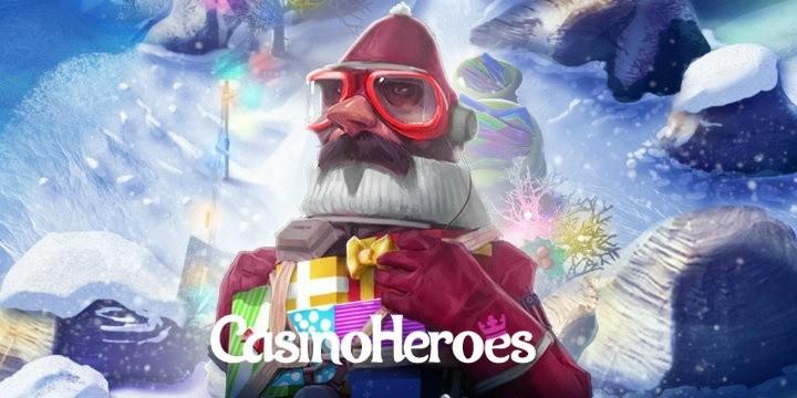Slå bossar och snurra i spelautomater på julig ö hos svenskt nätcasino!