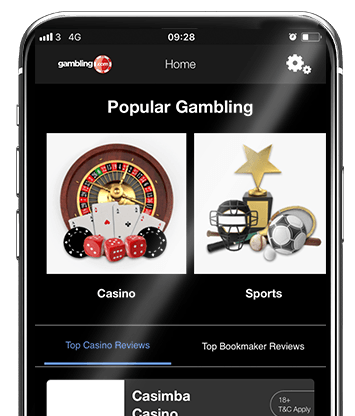 Gambling.com Bonus Comparison App