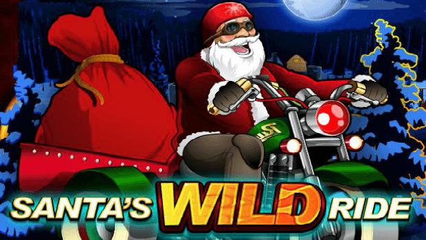 Santa's WILD Ride kolikkopeli