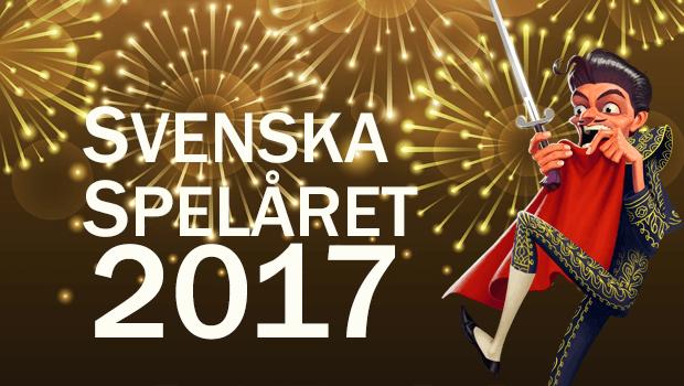 Svenska spelåret 2017 - årets största casinonyheter