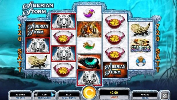 Siberian Storm spelautomat