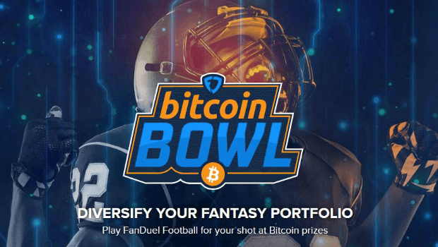FanDuel Offers Bitcoin as Prize in Bitcoin Bowl Challenge