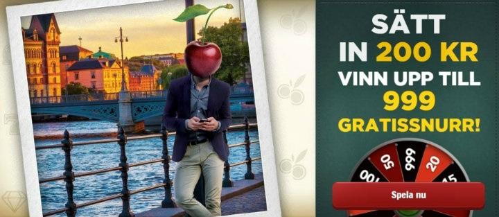 Ny casinobonus välkomnar spelare med upp till 999 gratissnurr!