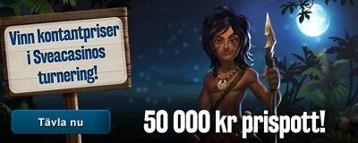 Svinga dig in i djungeln hos nätcasino & tävla om vilda kontanter!