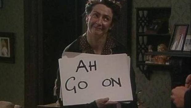 Mrs Doyle, Go On