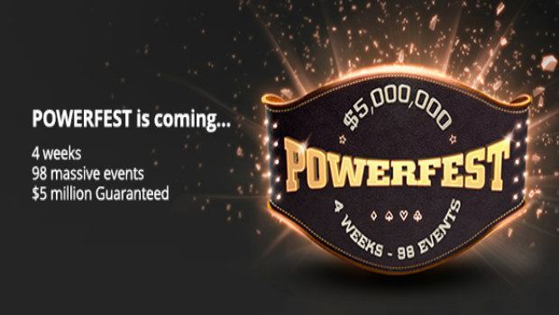 partypoker Launches $5 Million Guaranteed 'Powerfest'