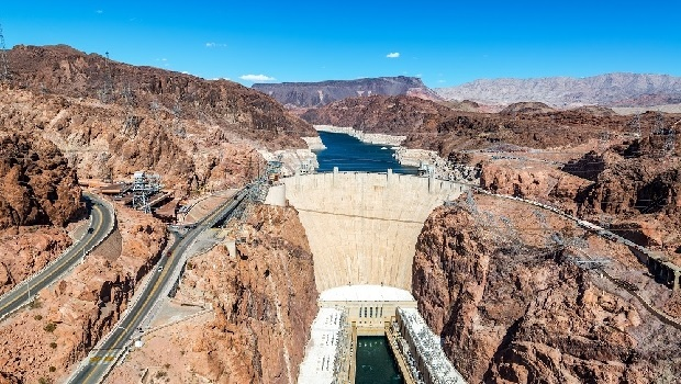 Hoover Dammen Coloradofloden