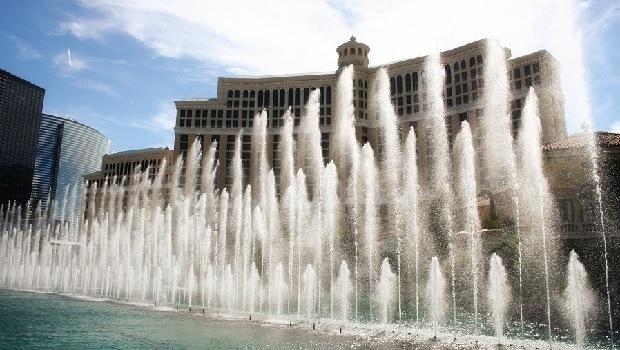 fontän Bellagio