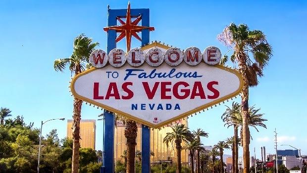 Välkommen skylt Las Vegas