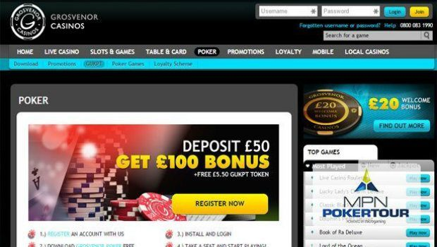 Grosvenor Joins the Microgaming Poker Network