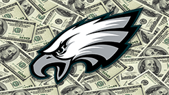 Multimillion Dollar Bet Placed on an Eagles Super Bowl Win