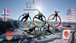 Vinter OL 2018 - Hvilket land får flest medaljer?