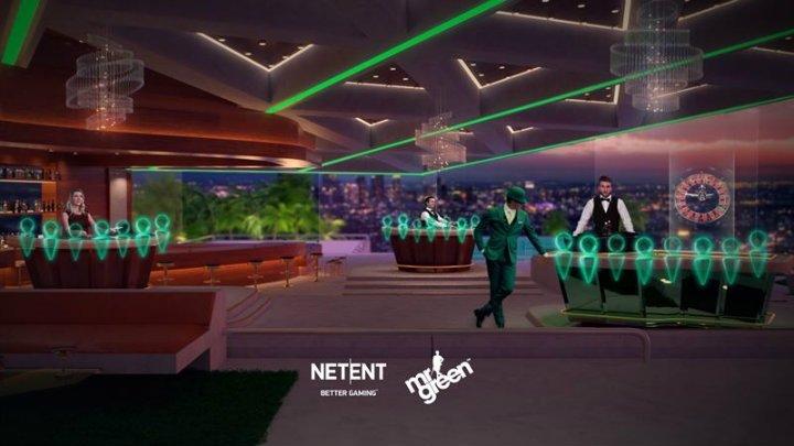Mr Green NetEnt Live Casino