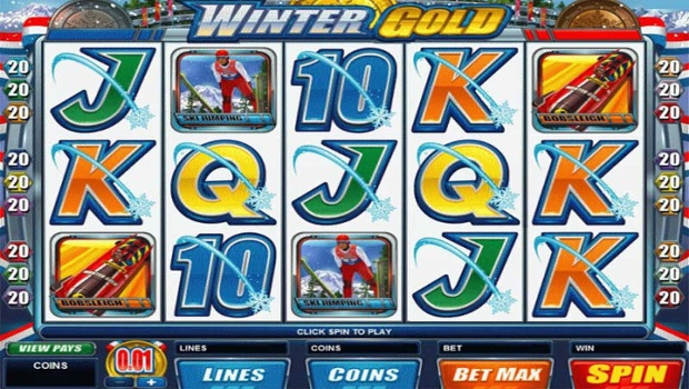 Winter Gold slot machine