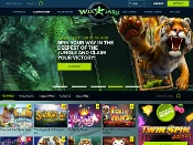 Wixstars Casino Screenshot 1
