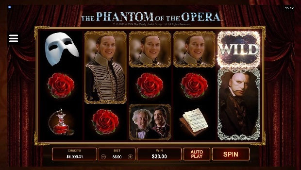Phantom of the Opera kolikkopeli