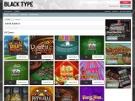 Black Type Casino Screenshot