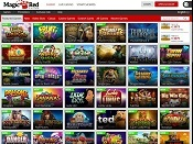 MagicRed Casino Screenshot 1