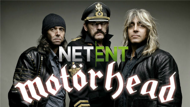 'NetEnt Rocks' Out with Brand New Motorhead-themed Slot