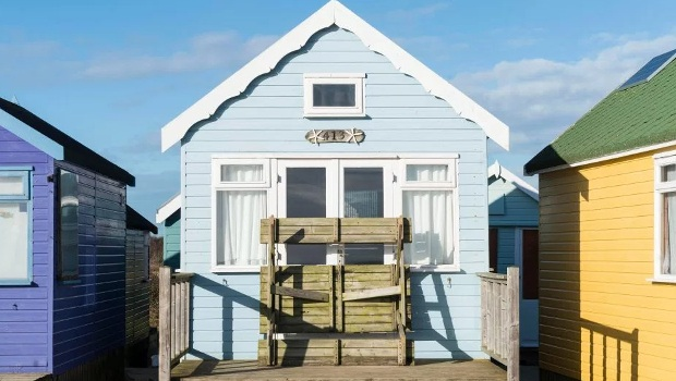 Britain's most expensive beach hut