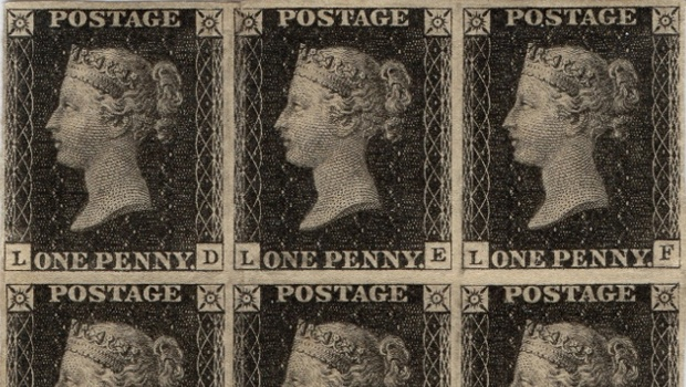 Penny Black stamp