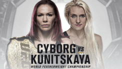 Bookmakers Suggest Cyborg Dominates Kunitskaya in UFC 222?