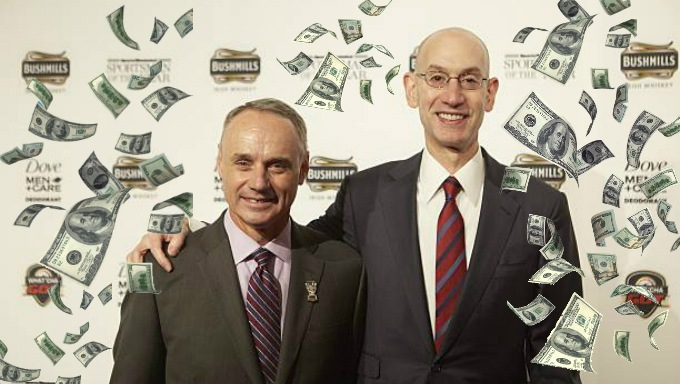 MLB and the NBA Support Legal Sports Betting But Why Now?