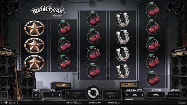Motörhead kolikkopeli