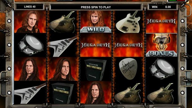 Megadeth kolikkopeli