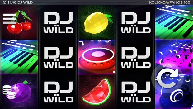 DJ Wild kolikkopeli