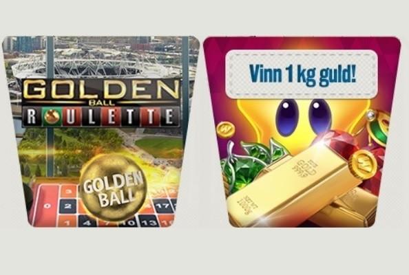 Tävla om pengar och guld i svenskt mobilcasino