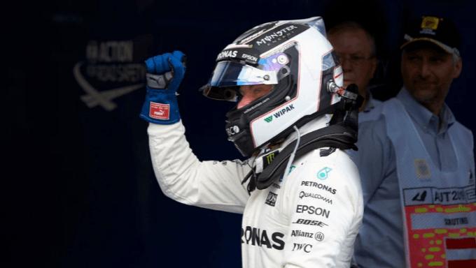 Valtteri Bottas mostra il suo potenziale per il Gran Premio australiano