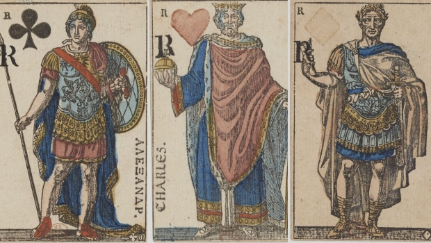 French Empire card deck