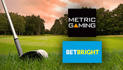 BetBright Integrates Metric Gaming's Golf Pricing Solution