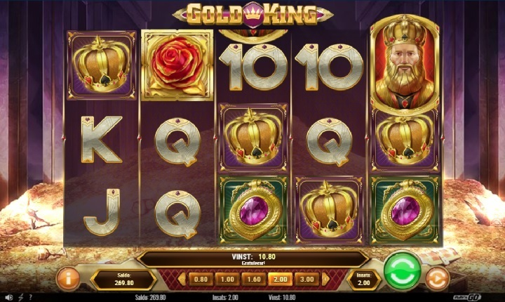 Gold King videoslot