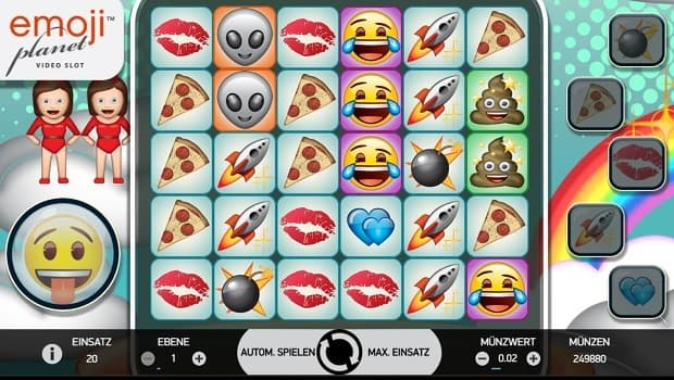 Emojiplanet spielautomat NetEnt