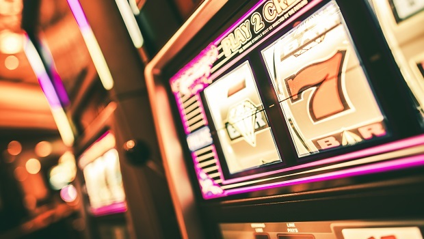 Analoger Spielautomat
