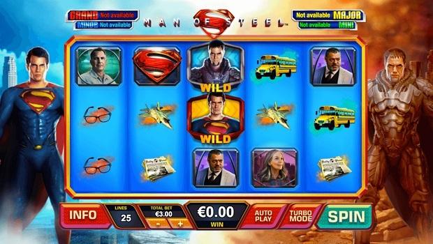 Man of Steel spielautomat