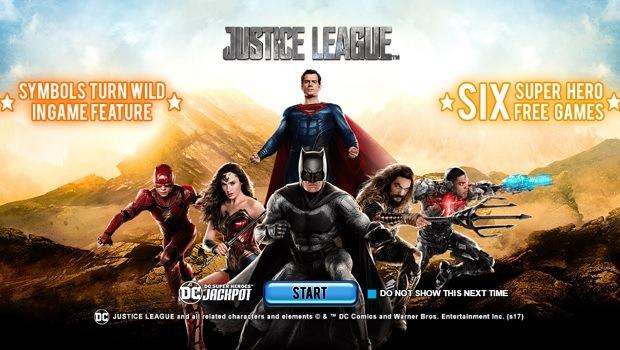 Justice League spielautomat