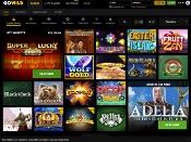GoWild Casino Screenshot 1