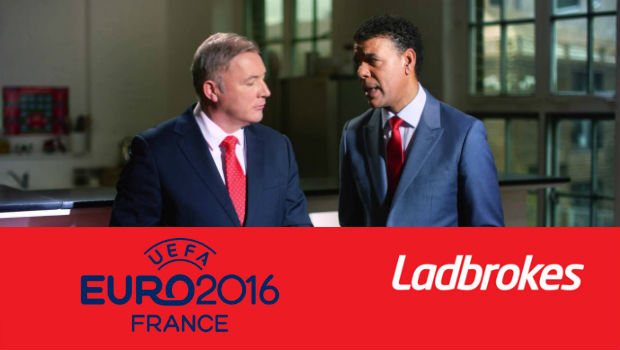 Ladbrokes Leads Euro 2016 Race, Signs Kamara and McCoist