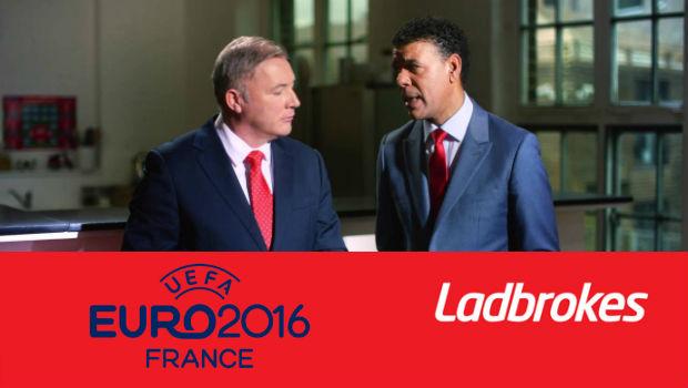 Ladbrokes Leads Euro 2016 Race, Signs Kamara and McCoist