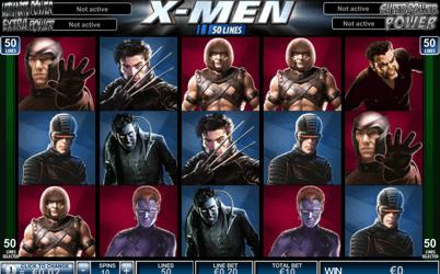 X-Men 50 Line spelautomat