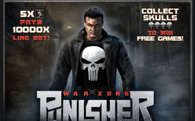 Punisher: War Zone spelautomat