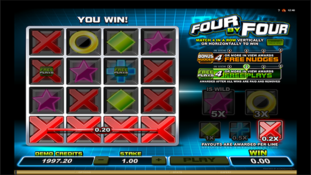 Four by Four casinospill